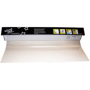 Wizard Wall 28 Clear Static Clingz Film White Board System 27525sbc