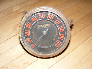 1946 47 48 Ford 2dr Sedan Speedometer Gauge Rat Rod