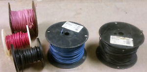 Two 14 Ga Thhn 500 Ft 600w Blue Black Wire essex 3 Partials