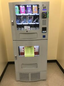 Pre Owned Seaga Sm22 Combo Vending Machine