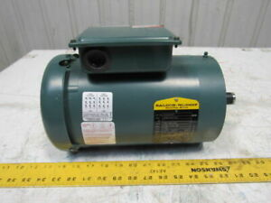 Baldor Vuhm3546t 1hp 1750rpm 208 230 460v 3ph 143tc Ac Motor