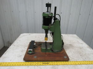 Schmidt 23 023 97 1000 2 Stroke Pneumatic Bench Top Assembly Toggle Press