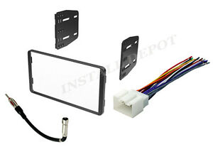 Complete Radio Stereo Install Dash Kit Plus Wire Harness Antenna Adapter Ford