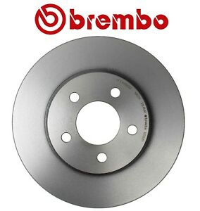 New For Ford Mustang Base 4 0l Front Vented Coated Disc Brake Rotor 293mm Brembo