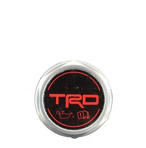 Trd Oil Cap Forged Billet Aluminum Oes For Toyota 4runner Avalon Camry Tundra