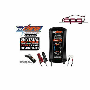 Ozcharge Proseries 12volt 6amp Battery Charger Maintainer Trickle Watercraft