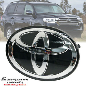 Front Grill Grille Logo Emblem Badge For Toyota Land Cruiser 200 Urj200 2015 on