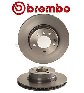For Bmw E60 525i Pair Set Of 2 Front Brake Disc Rotors Vented 310mm Coat Brembo