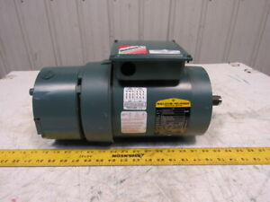Baldor Dodge Vbm3546t d 1hp 1750rpm 3ph 208 230 460v 143tc 6 Brake Motor