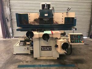 Kent kgs 63a11d 12 X 24 Hydraulic Surface Grinder 1997 gmt 1638