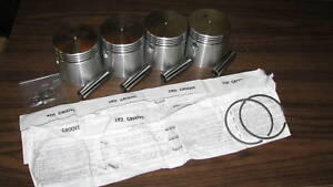 Wisconsin Engine Piston Ring Set For Vh4d W4 1770 Read Ad