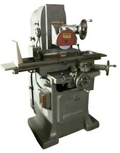 Gallmyer Livingston Co No 25 Surface Grinder W 6 X 18 Magnetic Chuck