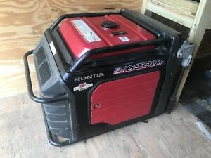 Honda Eu6500is Inverter Generator Low Hours
