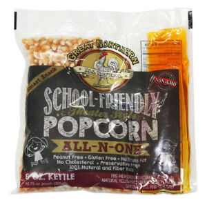 Great Northern Popcorn 8 Ounce Popcorn Portion Packs case Of 24