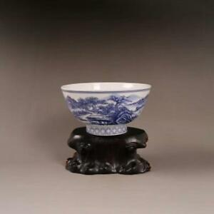 Chinese Old Porcelain Bowls With Blue And White Porcelain Bowl