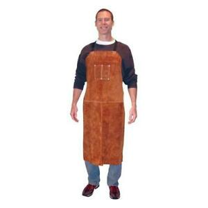Tillman 3842 24 W X 42 L Leather Bib Apron