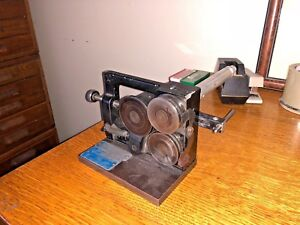 St Mary Spin Roll Grinding Fixture Model 1685