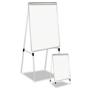 Universal White silver Adjustable White Board Easel