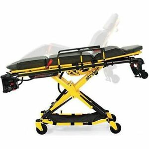 Stryker Power pro Xt Ambulance Cot With Power load Cot Fastener System Certifi