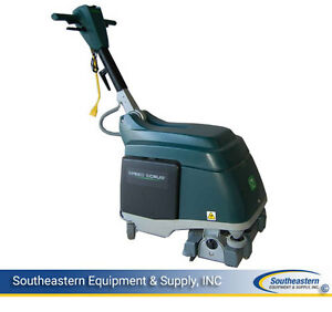 New Nobles Speed Scrub 15 Cord electric Cylindrical Floor Scrubber
