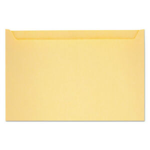 Quality Park Paper File Jackets 5 Inches X 8 1 8 Inches 28 pound Manila Buff