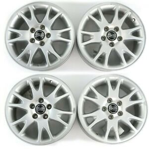 Set Of 4 Volvo Oem 16x7 Xenia Alloy Rims Wheels Fits S60 S80 V70 Xc70