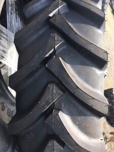 Two 20 8x38 20 8 38 Ford John Deere 14 Ply Farm Tractor Tires