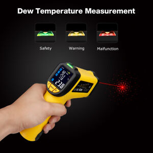 58 f 1382 f Infrared Thermometer Ir Laser Temperature Meter Gun Non contact New