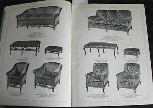 1930s Upholstery Deluxe The Vogue In Living Room Furniture Catalog No 25 Design