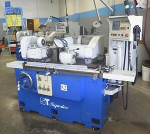 Used Supertec G25p 50nc Programmable Universal Cylindrical Grinder New 2008