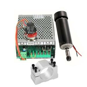 24 100v 500w High Speed Engraver Air Cooled Spindle Motor 52mm Er11 Router X1q9