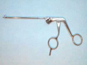 Storz Silcut 1 Arthroscopy Forceps Punch Curved Up 15 Bite 3 4mm 28571bb New