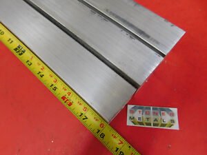 3 Pieces 1 1 2 X 1 1 2 Aluminum Square 6061 T6511 Solid Extruded Bar 18 Long