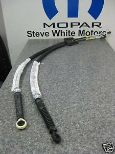 01 03 Dodge Neon Manual Transmission Shifter Cable Cables Mopar T850 Nvg Genuine