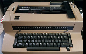 Ibm Selectric Iii Type Writer