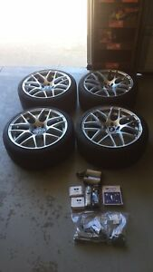19 Vmr V710s W Bmw Center Caps Wheel Locks And Tpms Included Free Lighting