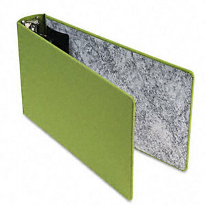 Green Canvas 2 inch Legal 3 ring Binder
