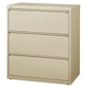 Lorell Llr88027 Putty 3 drawer Lateral Files