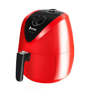 1500w Air Fryer Multifunction Programmable Timer Temperature Control Red Cheap