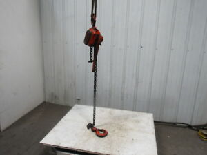 Duff Lunx Lsb 6000 3 Ton Cap 4 Lift Ratchet Lever Hoist Chain Come Along Puller