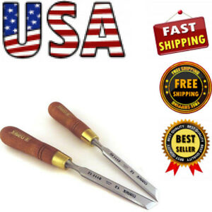 New Narex Right Left 12 Mm 1 2 Skew Paring Chisels 81112 811162 Free Shipping