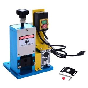 Goplus Portable Copper Powered Electric Wire Stripping Machine Cable Stripper