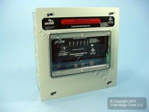 Leviton 7 mode High Surge Suppressor Protector Panel 277 480v 3 y Wye 47277 7