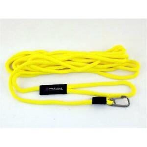 Soft Lines PSW10850YELLOW Floating Dog Swim Snap Leashes 0.5 In. Diameter By ... $63.32