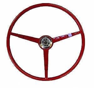 1965 Ford Mustang Steering Wheel Red