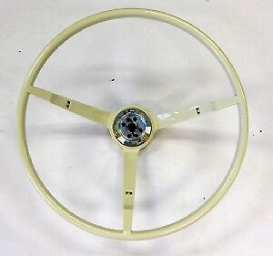 1965 Ford Mustang Steering Wheel White