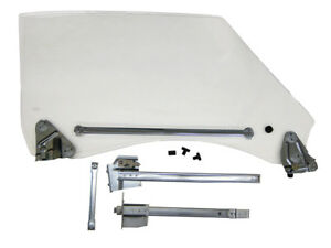 1968 1969 Chevrolet Camaro Door Glass Kit Incl Hardware And Tracks Lh Clear