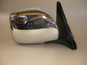 Toyota Landcruiser 100 Series Electric Chrome Door Mirror Right