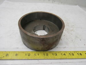 Micro Mfg 5 66 X 2 3 8 Wide Crowned Face Drive Pulley 1610 Bushing Bore