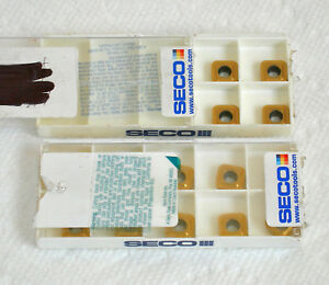 Lot 14 Pieces New Carbide Inserts Seco Spgx0903 c1